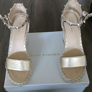 Gold Marc Fisher Wedges